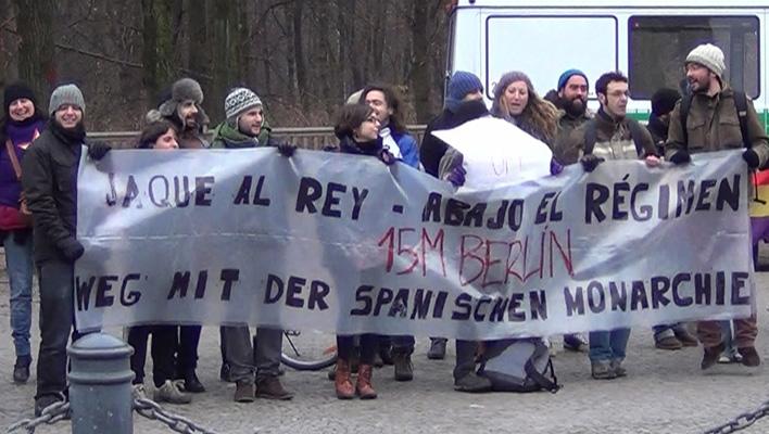 Proteste gegen Spaniens Monarchie (Foto: HauptBruch GbR)