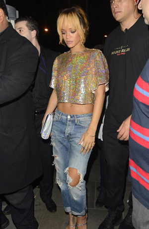 Rihanna Boyfriend-Look
