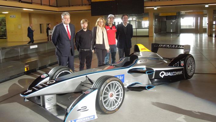Nick Heidfeld bei der Formel E