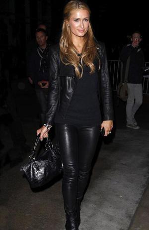 Paris Hilton Leder