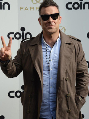 Robbie Williams Trenchcoat