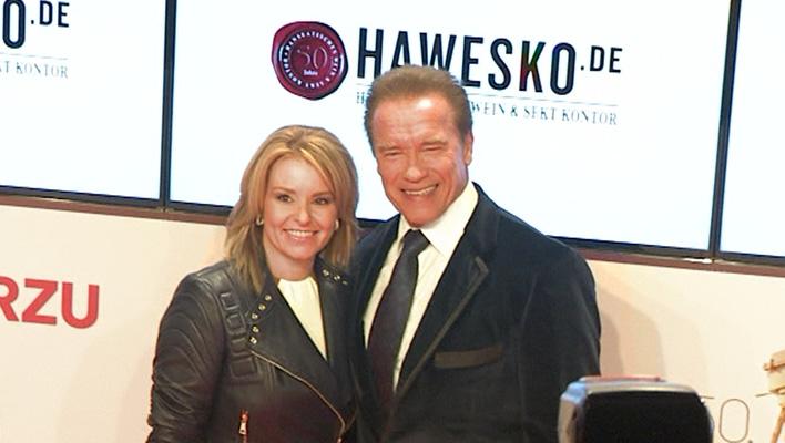Arnold Schwarzenegger und Heather Milligan (Foto: HauptBruch GbR)