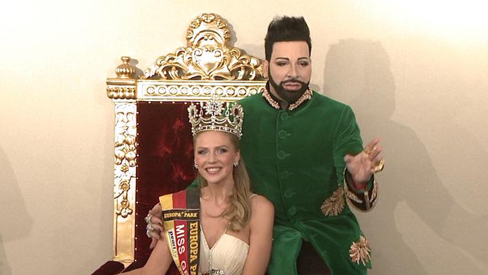 Harald Glööckler und Miss Germany Olga Hoffmann (Foto: HauptBruch GbR)