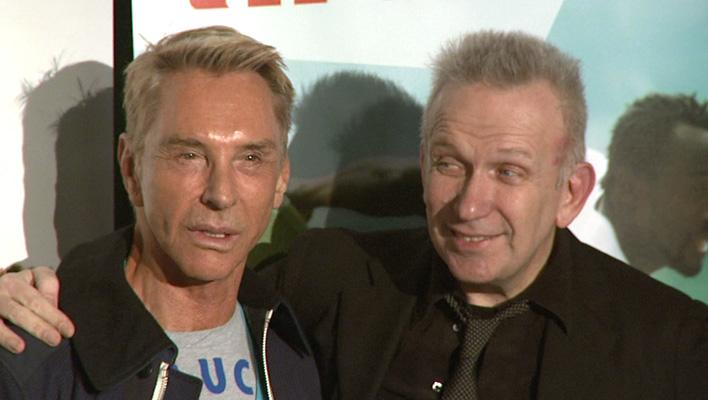 Wolfgang Joop und Jean Paul Gaultier (Foto: HauptBruch GbR)