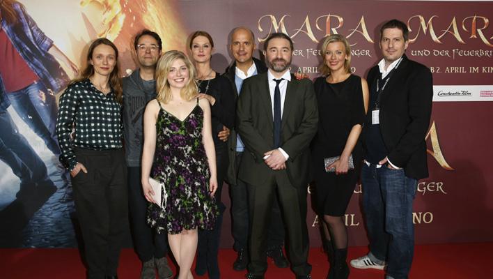 """Der Cast von """"MAra und der Feuerbringer"""" (Foto: Constantin Film)"""