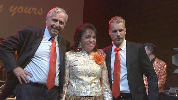 Oliver Pocher, Regine Sixt, Erich Sixt (Foto: HauptBruch GbR)