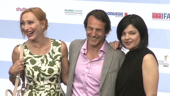 Andrea Sawatzki, Hans Werner Meyer, Jasmin Tabatabai (Foto: HauptBruch GbR)