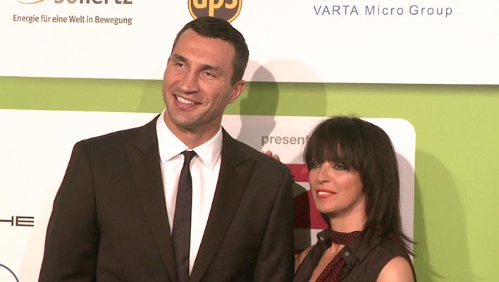 Wladimir Klitschko und Nena (Foto: HauptBruch GbR)