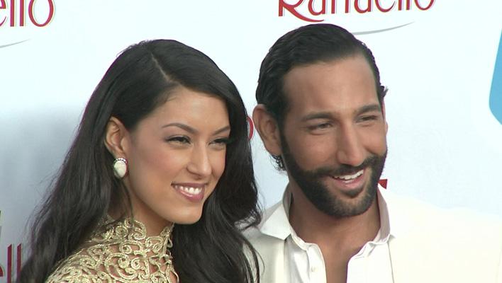 Rebecca Mir und Massimo Sinató (Foto: HauptBruch GbR)