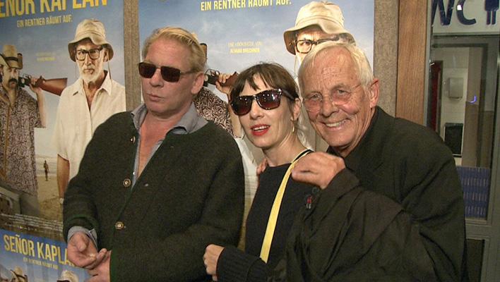 Ben, Meret und Rolf Becker (Foto: HauptBruch GbR)
