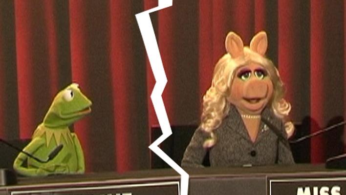 Kermit der Frosch und Miss Piggy (Foto: HauptBruch GbR)