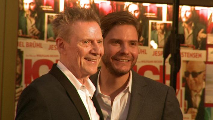 Daniel Brühl und Jesper Christensen (Foto: HauptBruch GbR)