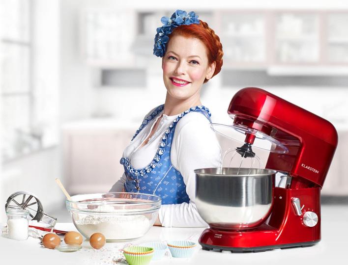 Enie van de Meiklokjes mit der Klarstein Bella Rossa (Foto: Promo)