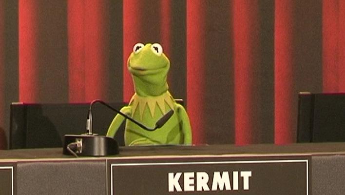 Kermit der Frosch (Foto: HauptBruch GbR)