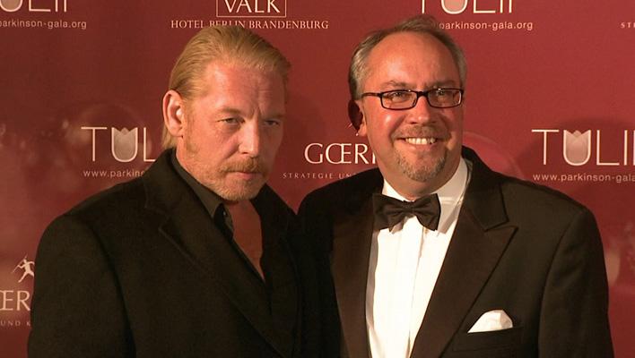Ben Becker und Initiator Stephan Göhricke (Foto: HauptBruch GbR)