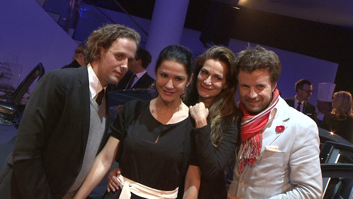Mariella Ahrens, Sebastian Esser, Alexandra Kamps, Michael von Hassel (Foto: HauptBruch GbR)