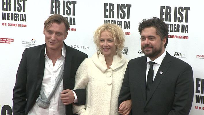 Oliver Masicci, Katja Riemann, David Wnendt (Foto: HauptBruch GbR)