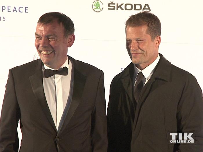 Tom Zickler und Til Schweiger (Foto: HauptBruch GbR)