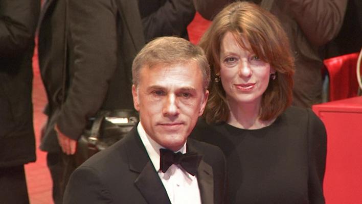 Christoph Waltz und Frau Judith Holste (Foto: HauptBruch GbR)