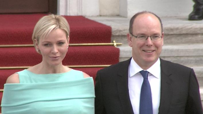 Fürst Albert von Monaco und Charlene von Monaco (Foto: HauptBruch GbR)