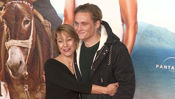 Matthias Schweighöfer und seine Mutter Gitta Schweighöfer (Foto: HauptBruch GbR)