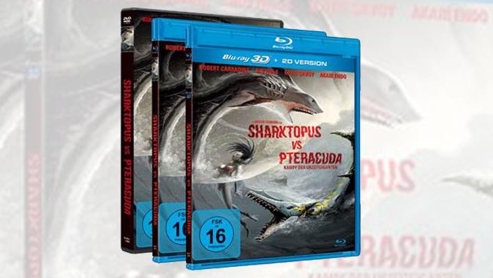 Sharktopus vs Pteracuda (Foto: Promo)
