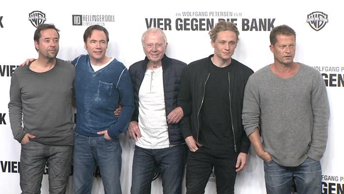 "Jan Josef Liefers, Michael ""Bully"" Herbig, Wolfgang Petersen, Matthias Schweighöfer, Til Schweiger (Foto: HauptBruch GbR)"