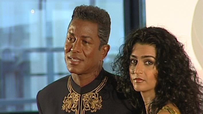 Jermaine Jackson und Ehefrau Halima Rashid (Foto: HauptBruch GbR)