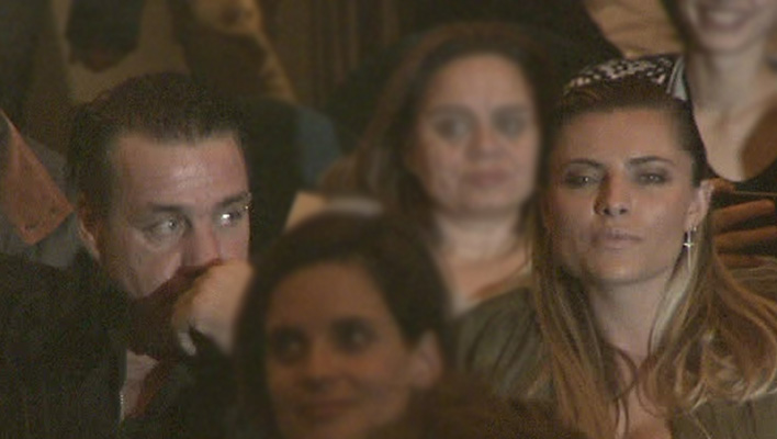 Till Lindemann und Sophia Thomalla (Foto: HauptBruch GbR)