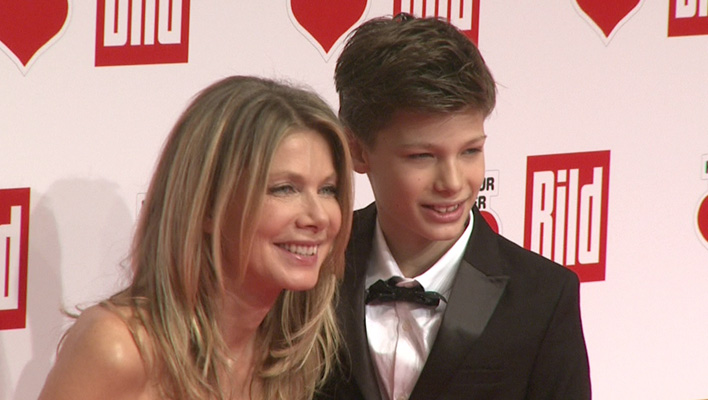 Ursula Karven und Sohn Liam (Foto: HauptBruch GbR)