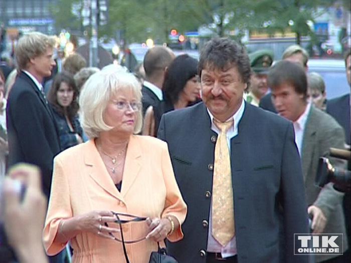 Achim Mentzel und Ehefrau Brigitte (Foto: HauptBruch GbR)