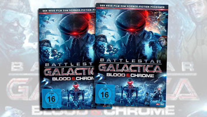 Battlestar Galactica Blood and Chrome (Foto: Promo)