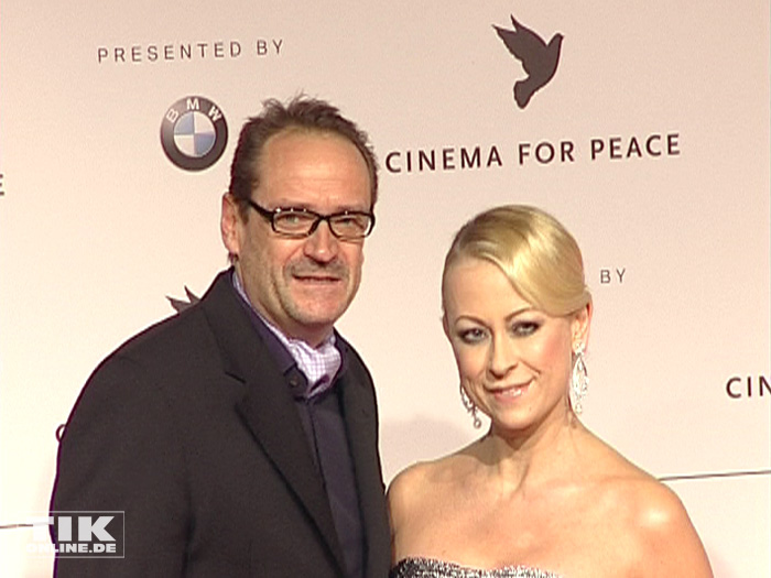 Jenny Elvers und Ex-Ehemann Götz Elbertzhagen (Foto: HauptBruch GbR)