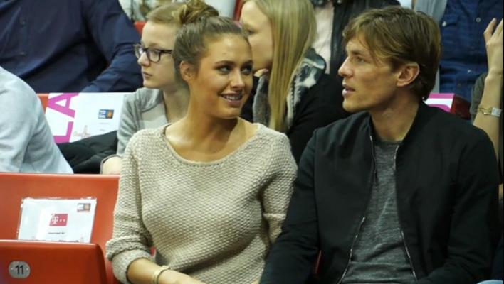 Alena Gerber und Clemens Fritz (Foto: Position PR / Beko Basketball Bundesliga)