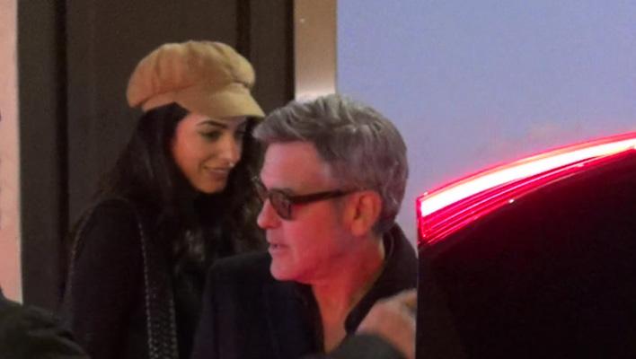 George Clooney und Amal Clooney (Foto: HauptBruch GbR)