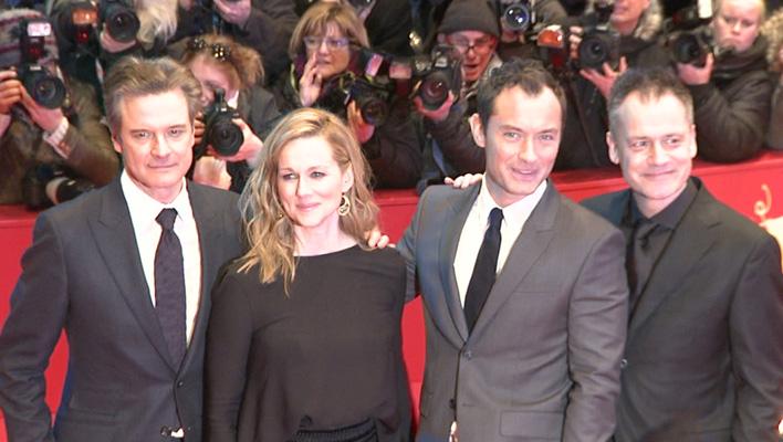 Colin Firth, Jude Law, Michael Grandage und Laura Linney (Foto: HauptBruch GbR)