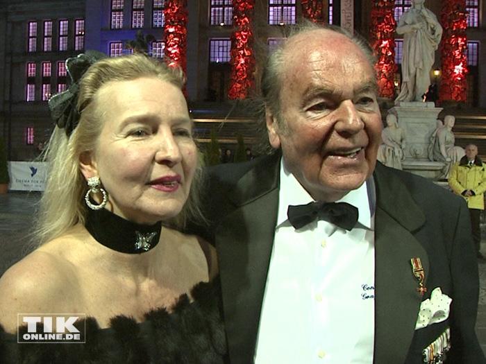 Konsul Weyer mit Ehefrau (Foto: HauptBruch GbR)