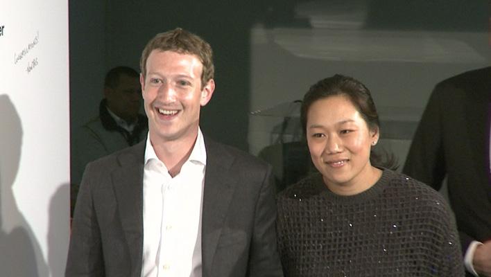 Mark Zuckerberg und Ehefrau Priscilla Chan (Foto: HauptBruch GbR)