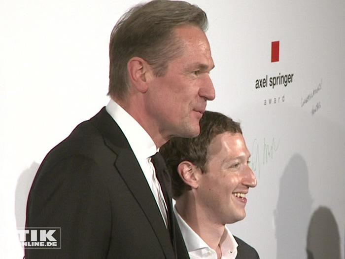 Mark Zuckerberg beim Axel Springer Award (Foto: HauptBruch GbR)