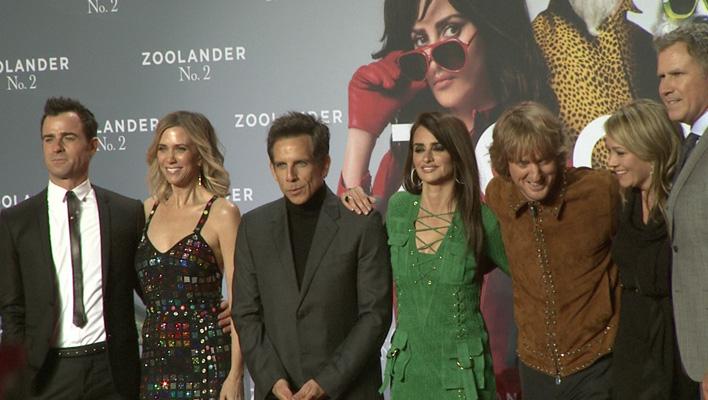 Justin Theroux, Kristen Wiig, Ben Stiller, Penelopé Cruz, Owen Wilson, Christine Taylor und Will Ferrell (Foto: HauptBruch GbR)