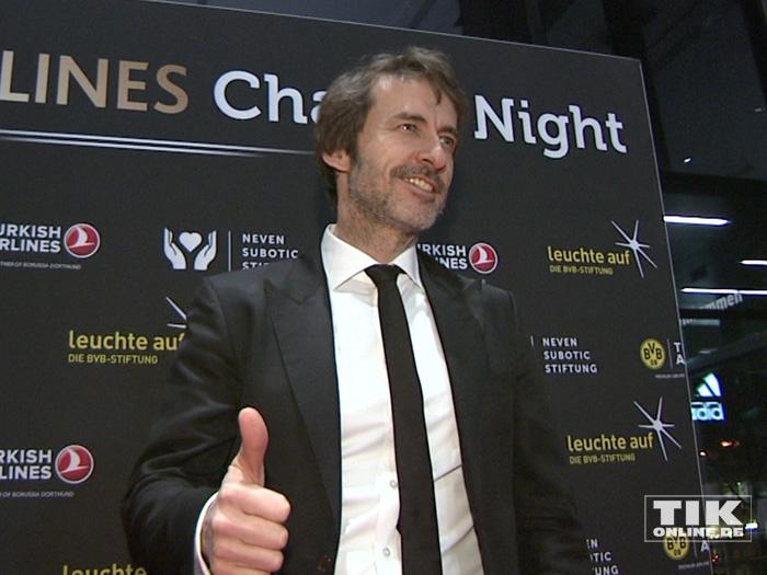 Guido Broscheit bei der 2. Turkish Airlines Chaity Night in Dortmund