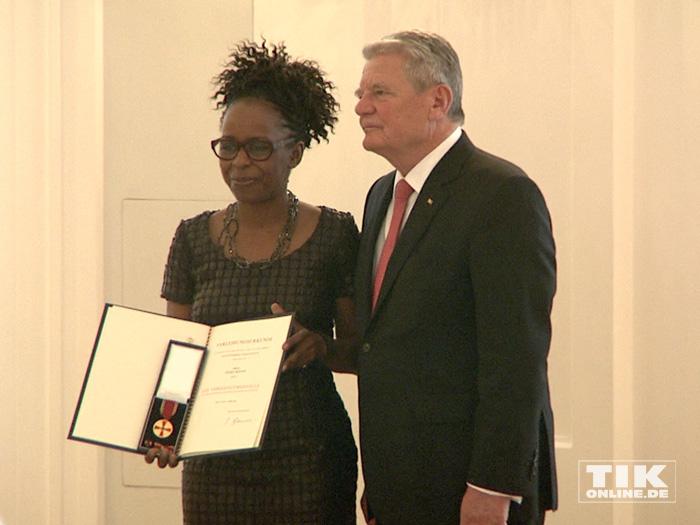 Natalia Wörner bekommt das Bundesverdienstkreuz