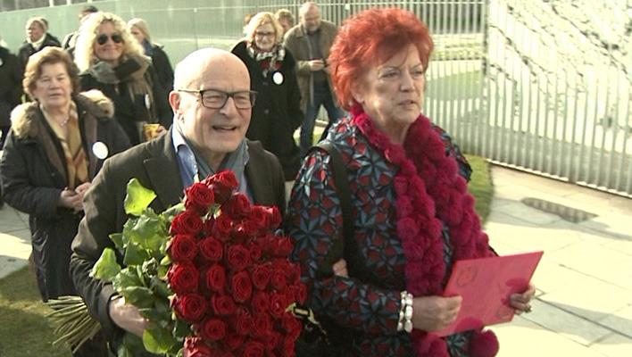 Volker Schlöndorff und Regina Ziegler (Foto: HauptBruch GbR)