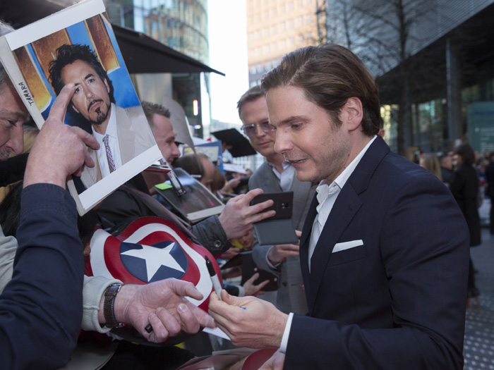 The First Avenger - Civil War Berlin-Premiere