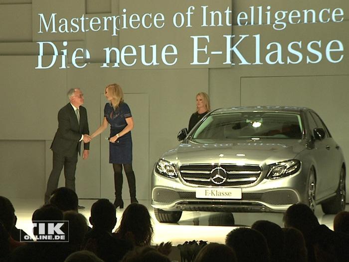 Präsentation der neuen Mercedes-Benz E-Klasse