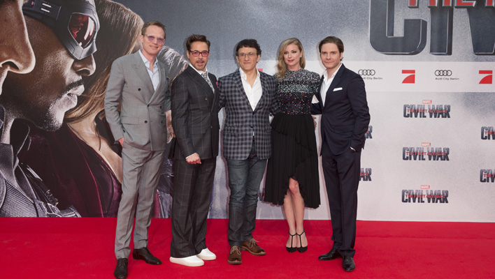 The First Avenger - Civil War Berlin-Premiere (Foto: Marvel/The Walt Disney Company/Silke Reents)