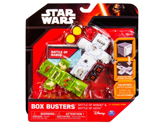 "Spin Master Box Busters ""Battle Of Hoth & Battle Of Naboo"" (Foto: Promo(Spin Master Ltd.)"