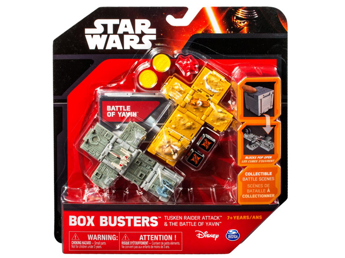 "Spin Master Box Busters ""Battle Of Yavin & Tusken Raider Attack"" (Foto: Promo/Spin Master Ltd.)"