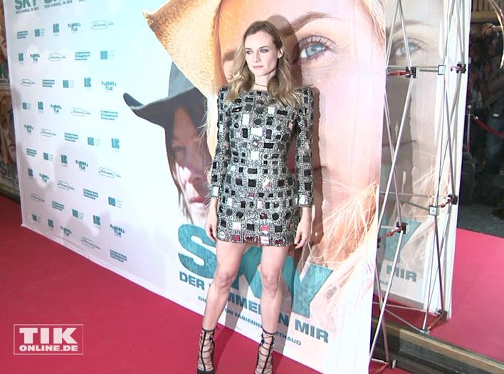 """Diane Kruger präsentiert ihren Film """"Sky - Der Himmel in mir"""""""