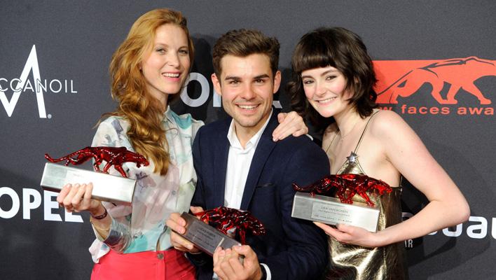 Theresa von Eltz, Lucas Reiber, Lea vcan Acken (Foto: Huber Burda Media)